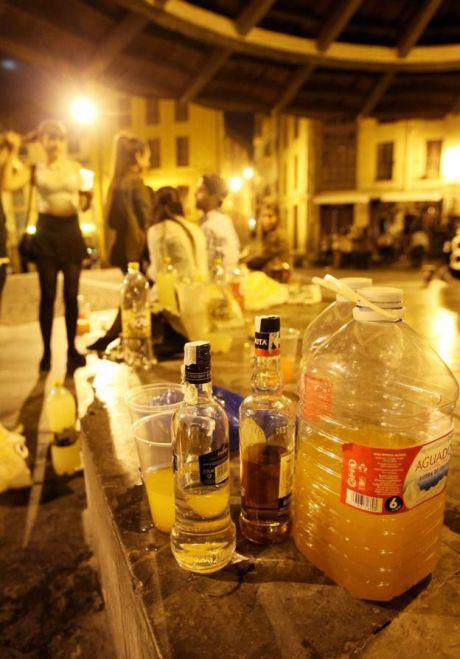 'Cuenca, En Marcha!'alerta del riesgo de que el botellón se traslade a otros lugares