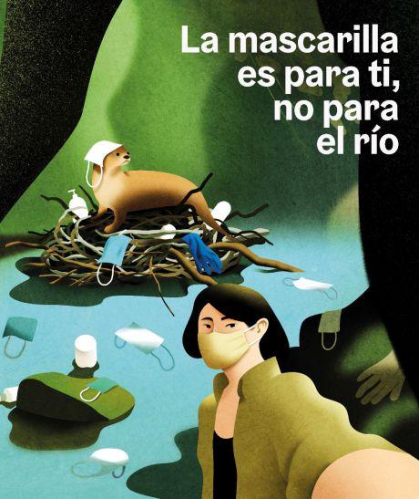 Tarancón colabora con la FEMP y el Gobierno de España en la campaña 'Recuerdos inolvidables. La mascarilla es para ti, no para la naturaleza'
