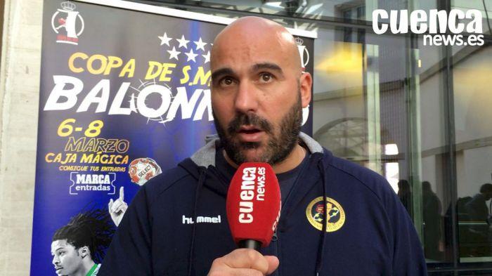 Lidio Jiménez, entrenador del Liberbank Cuenca