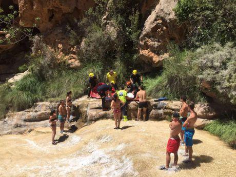 Rescatada una joven de 23 años en Las Chorreras