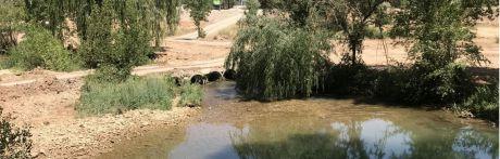 Rescatan sin vida a un hombre en el río Júcar a su paso por el recinto ferial