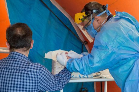 Castilla-La Mancha confirma 628 nuevos contagios por infección de coronavirus