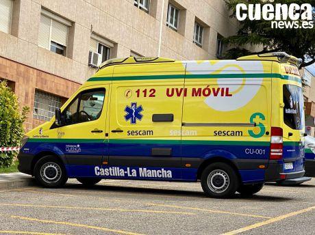 La huelga de ambulancias en Cuenca ha tenido un seguimiento del 87 %