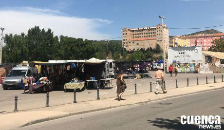'Cuenca, en Marcha!' pedirá ampliar el espacio del mercadillo para dar cabida a todos los puestos