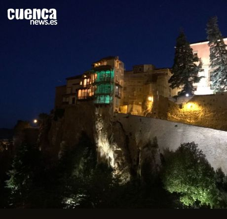 Cuenca iluminará las Casas Colgadas para reivindicar un papel más activo de los farmacéuticos frente a la Covid-19