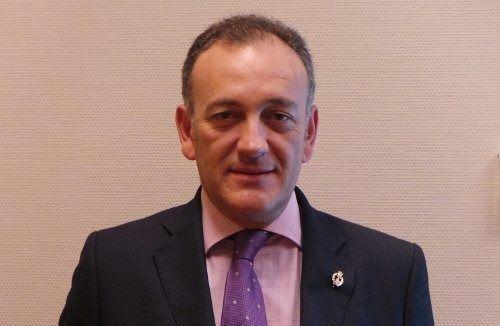 Carlos Molina, presidente del Colegio de Médicos de Cuenca