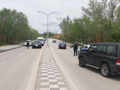La campaña de tráfico 'Distracciones en la Conducción' se salda en Cuenca con 3.662 vehículos controlados y 45 denuncias