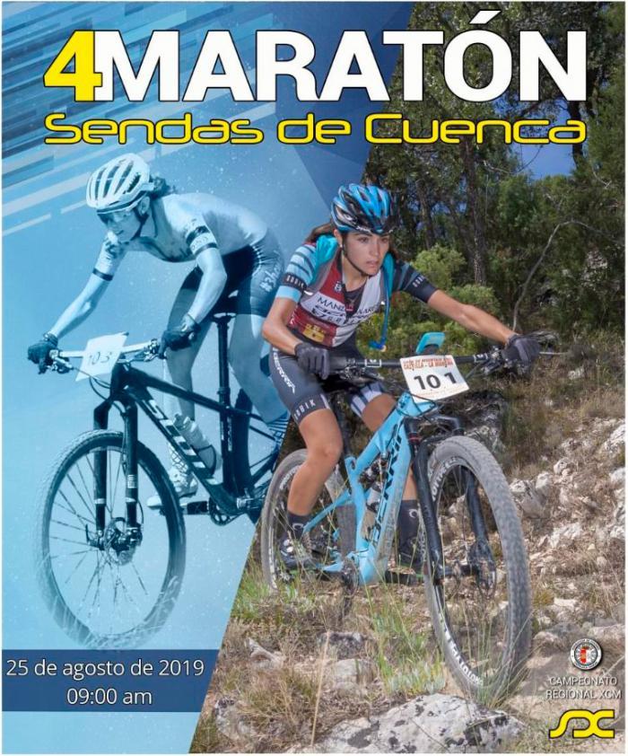 Menos de un mes para el Campeonato de Castilla-La Mancha de MTB Maratón en la IV Sendas de Cuenca