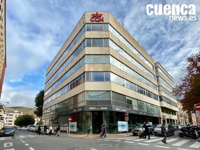 Oficina principal de Liberbank en Cuenca