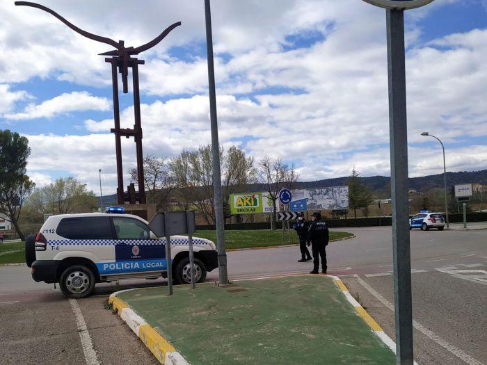 Control de la Policía Local de Cuenca
