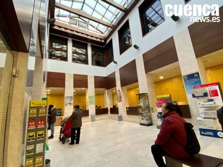 Las oficinas de Correos de Cuenca recibieron más de 224.000 visitas en los primeros nueve meses del año