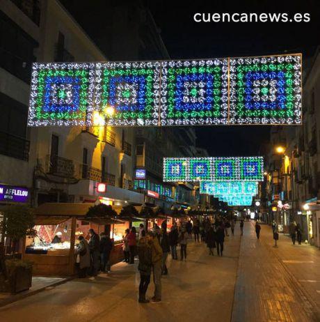 La iluminación navideña de la capital costará 57.000 euros