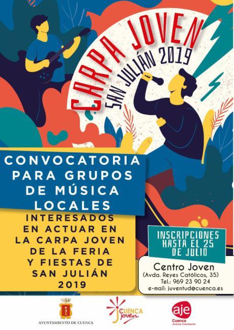 Vuelve la Carpa Joven a las Ferias de San Julián