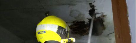 Fallece un joven de 31 años en un incendio en La Alberca de Záncara