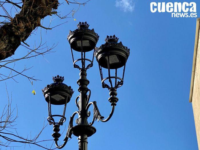 Alumbrado público con tecnología LED