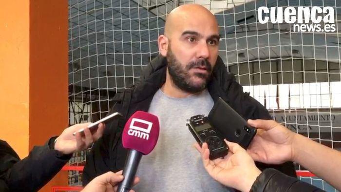 Lidio Jiménez, entrenador del Incaropsa Cuenca