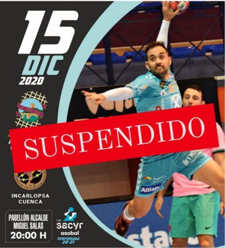Aplazado por segunda vez el Puente Genil Ángel Ximénez-Incarlopsa Cuenca por un nuevo positivo en el club conquense
