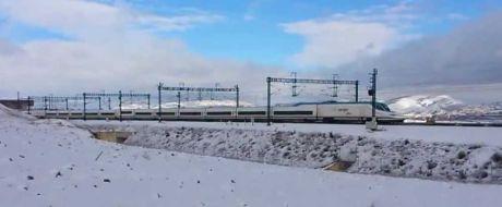 Renfe establece limitaciones de velocidad en líneas AVE por el temporal