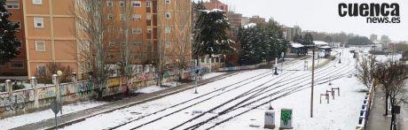 Suprimido el servicio del tren convencional Madrid-Cuenca-Valencia por la nevada