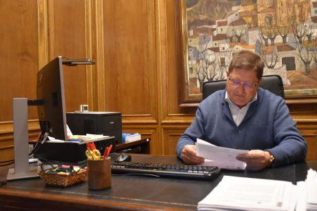 González Mena rechaza la mala gestión en el servicio de los bomberos de la Diputación durante el temporal