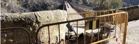 Se inician las obras de accesibilidad en el Puente de San Pablo