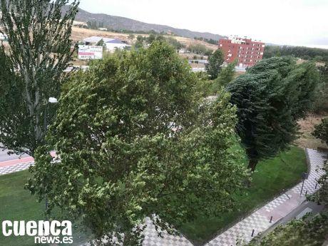 Cuenca estará en alerta amarilla este miércoles por viento