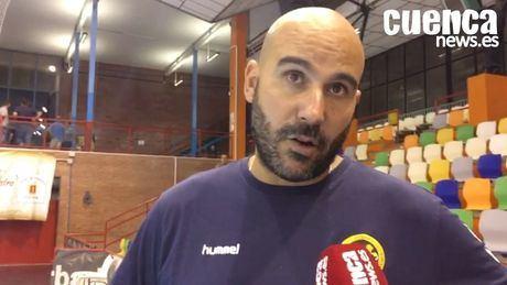 Lidio Jiménez , entrenador del Incarlopsa Cuenca