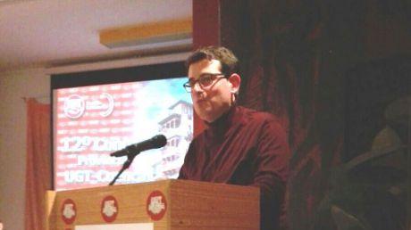 José Azcoitia, responsable provincial de UGT en Cuenca