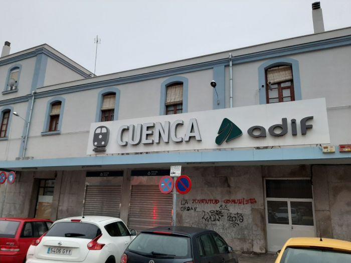 Estación del tren convencional en Cuenca