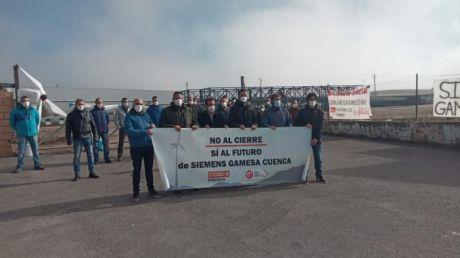 Siemens Gamesa impone su voluntad y cerrará su planta de Cuenca