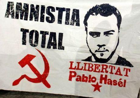 Un centenar de personas piden en Cuenca la excarcelación de Pablo Hásel