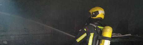 Desalojada la vivienda tutelada de Sotos por un incendio en la cocina