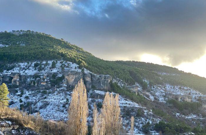 Cuenca en alerta por nieve