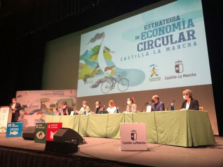 El Auditorio acogió la presentación del plan 'Estrategia de Economía Circular de Castilla-La Mancha Horizonte 2030'