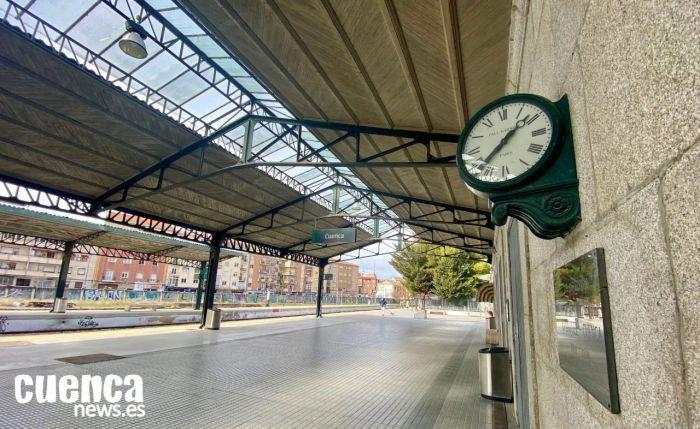Estación del tren convencional de Cuenca