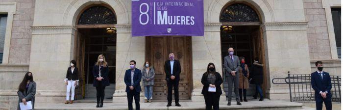 La Diputación acoge el acto institucional para reclamar una igualdad real entre hombres y mujeres