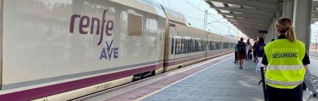 Desalojan la estación de AVE tras detectar un artefacto sospechoso en el equipaje de un viajero