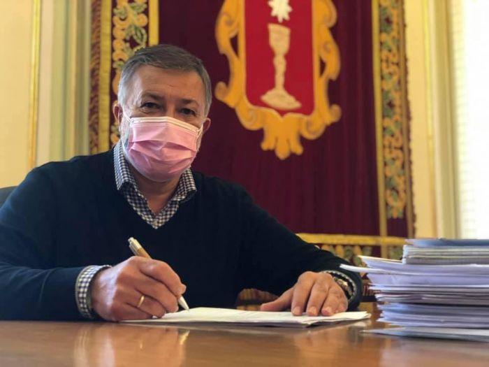 Darío Dolz, alcalde de Cuenca