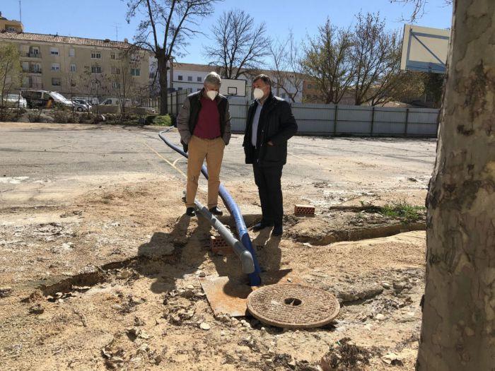 """La rotura del principal colector de agua de la ciudad implicará una obra de """"gran envergadura"""""""