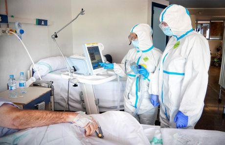 Continúa la reducción de pacientes COVID ingresados en Unidades de Cuidados Intensivos