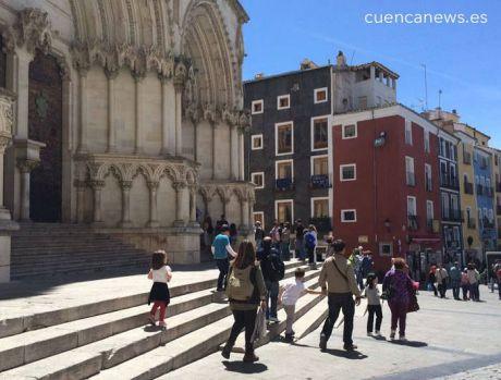 Detenida una persona por agredir a un Guardia Civil en la Plaza Mayor durante el Domingo de Ramos