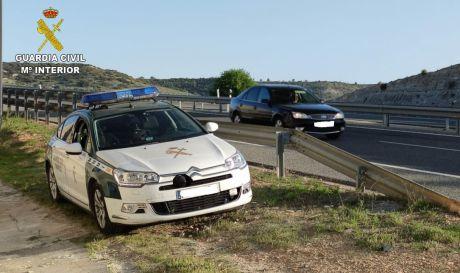 La Guardia Civil investiga a una persona por un delito de lesiones por imprudencia en concurrencia con otro de conducción temeraria