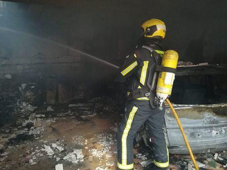 Un anciano herido grave en un incendio en su vivienda de Miglanilla