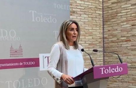 La alcaldesa de Toledo dice que el derrumbe de la calle Canónigos le