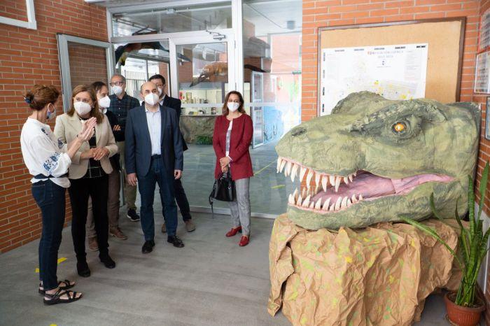 Destacan la intensa actividad artística y cultural que realiza el colegio de 'La Paz'