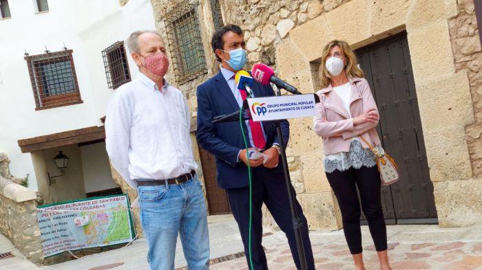 El Grupo Popular acusa al Alcalde y concejal de Urbanismo de ignorar y ocultar un informe que alertaba del 'grave riesgo' de derrumbamiento de la calle Canónigos