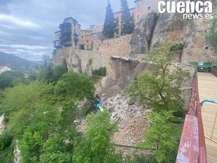 Cuenca en Marcha propone una Comisión de Investigación sobre el hundimiento de la calle Canónigos