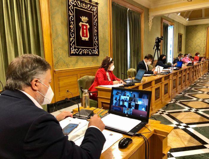 Dolz convocará periódicamente a la Junta de Portavoces para informar de los avances en la calle Canónigos