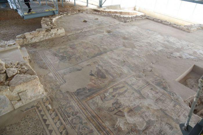Yacimiento arqueológico de la Villa Romana de Noheda en Villar de Domingo García
