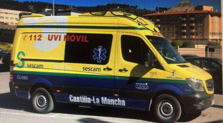 Herida una mujer en un choque de dos turismos en la calle Hermanos Becerril